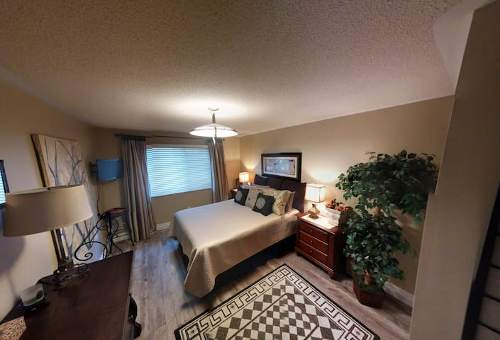 Large private room w/ TV, and bath