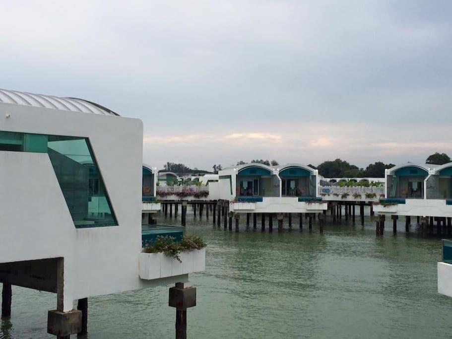 Premium Water Villa at Lexis Hibiscus