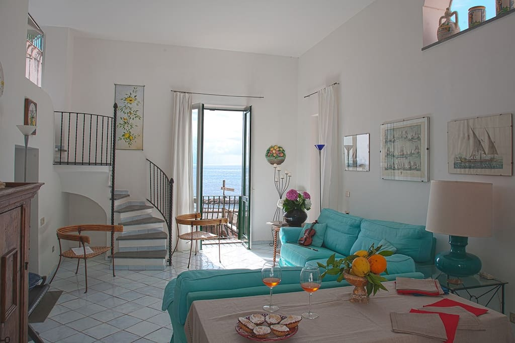 Caesarina house amalfi coast apartments for rent in for Apartments amalfi