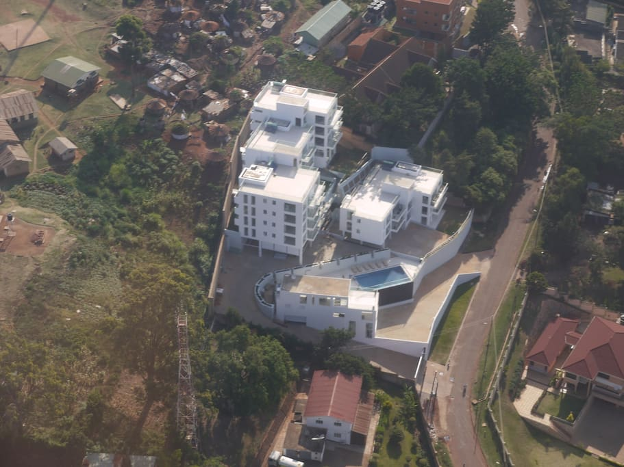 Aerial View of The Seventeen