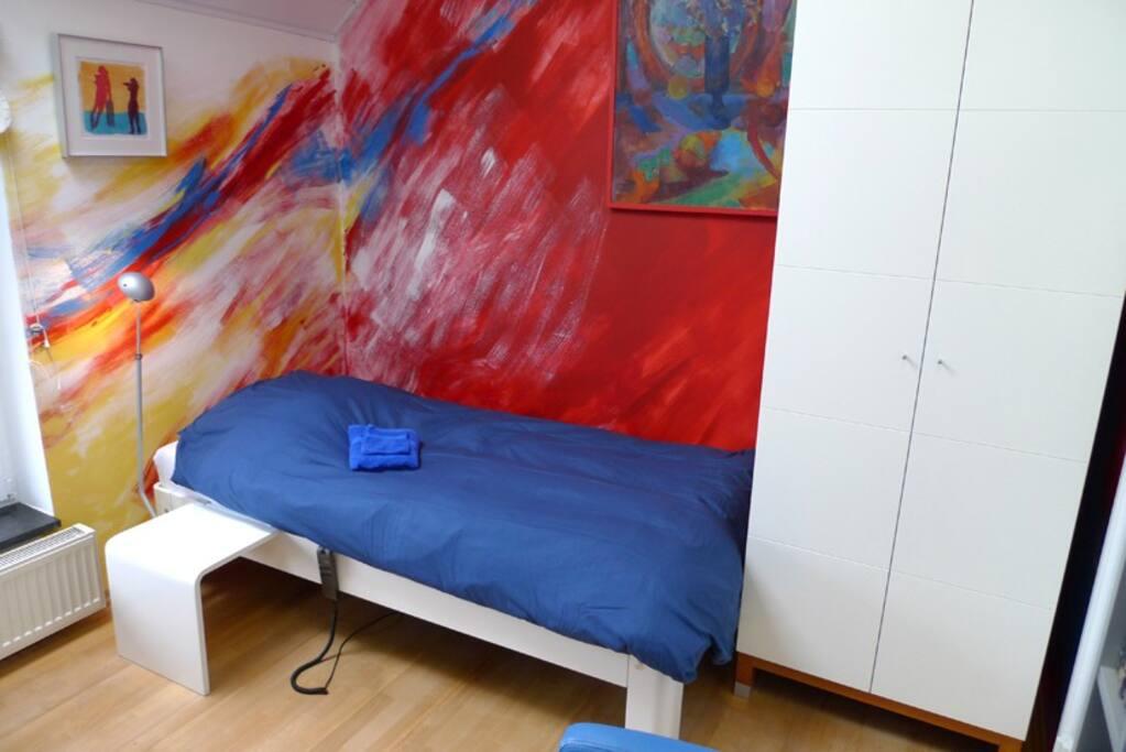 De blauw-rode kamer