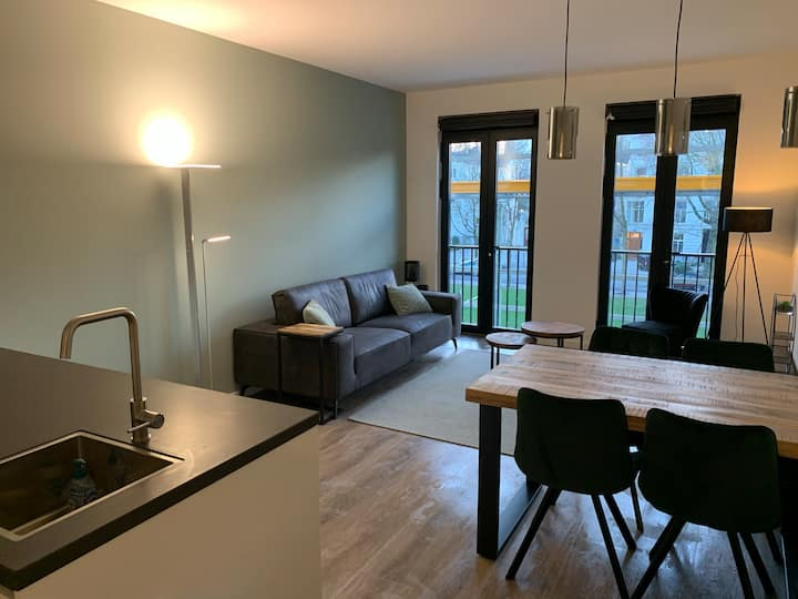 Newly built appartment in lively city centre