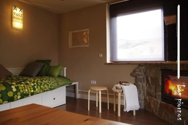 Casa Los Piornos en Puebla de Lillo - Puebla de Lillo - Apartamento