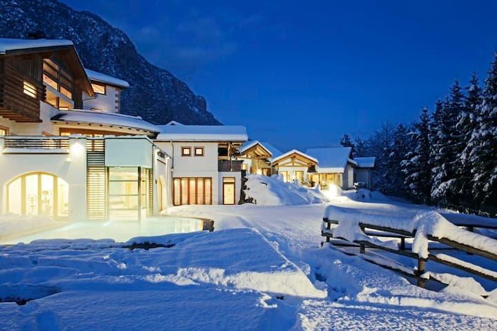 Una casa di sogno nelle Dolomiti