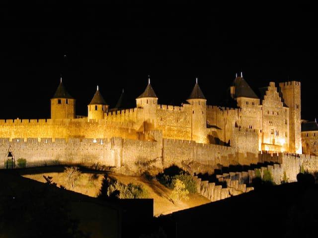 Carcassonne  centre, La Cité views! - Carcassonne - Appartement
