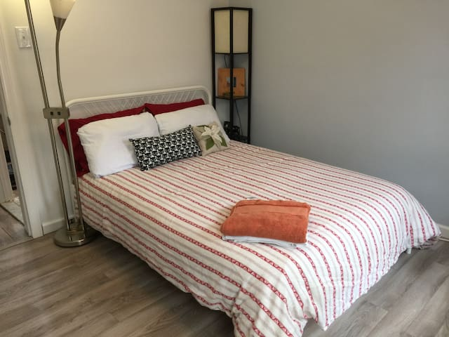 Private Full Bed Shared Bath C1