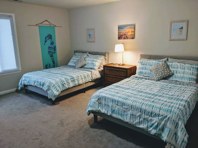 Conveniently Located, Relaxing Master Bedroom