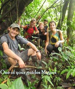 The Big Forest Hike, an over night adventure trip! - El Castillo, La Fortuna  - Tent