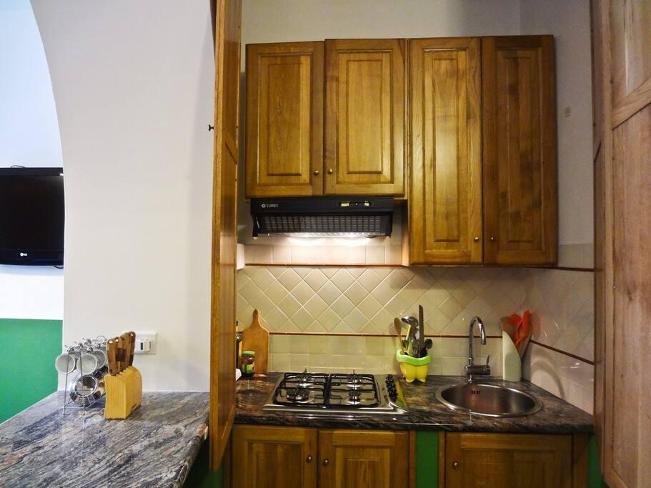 Living Room (Cucina Vista Frontale)