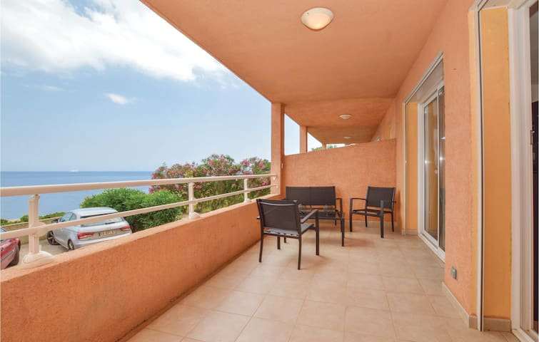Holiday apartment with 1 room on 26m² in Luri