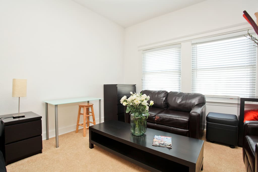 """Apartment is just as described. Clean and close to public transport. Easy to get around SF from the apartment."" ~Airbnb guest"