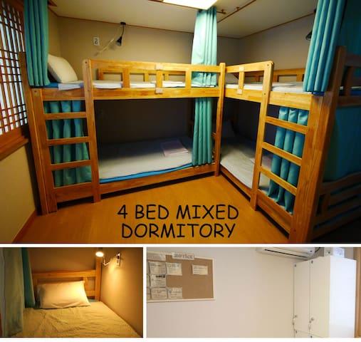 Seoul i 4 bed mixed dormitory(2)