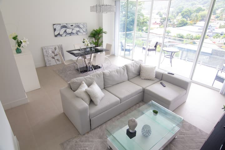 Upscale & Luxurious 2 Bedroom Condo in Maraval
