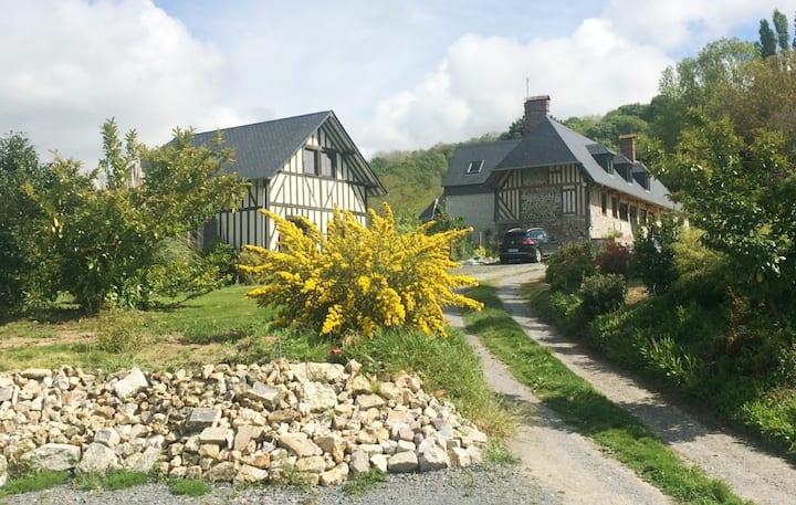 Maison Honfleur à 5 minutes, La Ferme aux Guignes