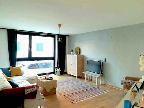 Brand new,central & large apartment at lake Zurich