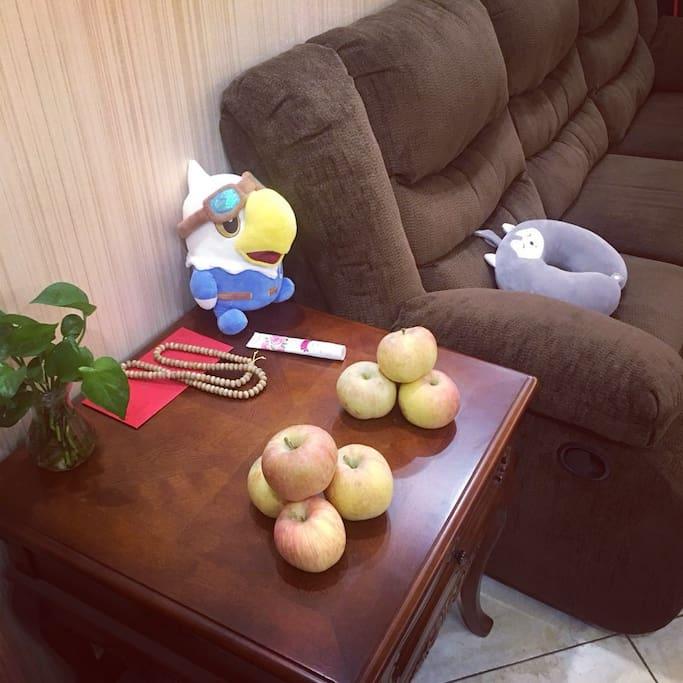 有爱心的共享苹果