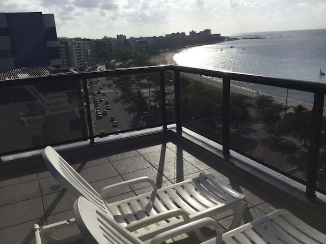 Wanderful seaside Apartment in ​​Maceió!