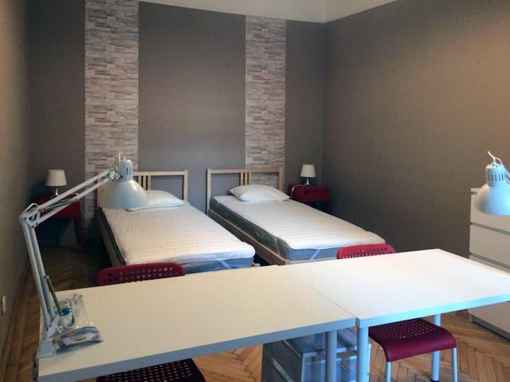 Raday utca -Double bedroom (room C)