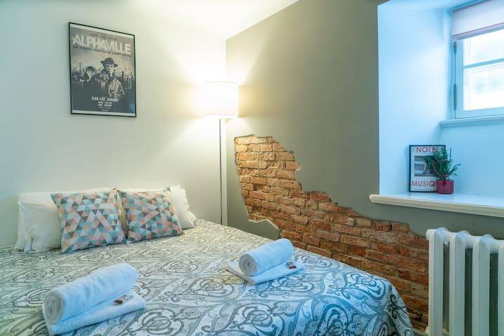 Alphaville · Super cozy economy room on the ground floor