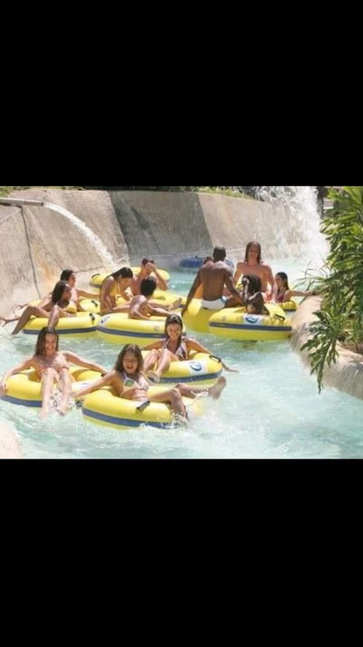 Flat p/04 pessoas no Park Resort Aldeia das Águas