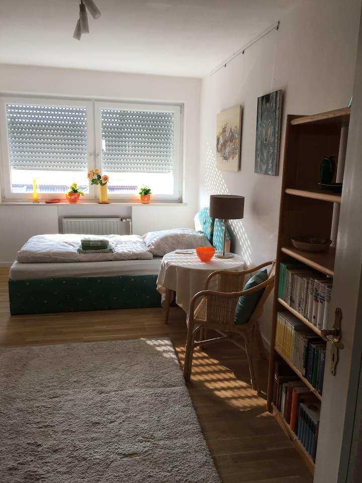 Ausruhen im komfortablen Zimmer im Arthouse 26