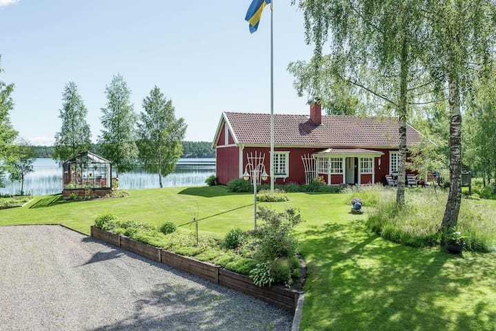 A swedish summer- and winterparadise