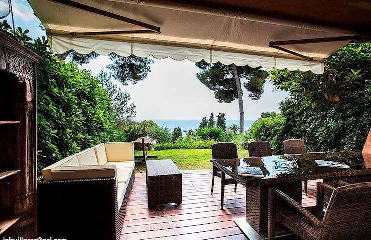 SeaView Villa, Pool, Tennis / Close to Monte Carlo