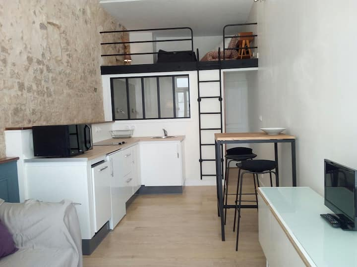 Charming apartment, 20 meters from the old port