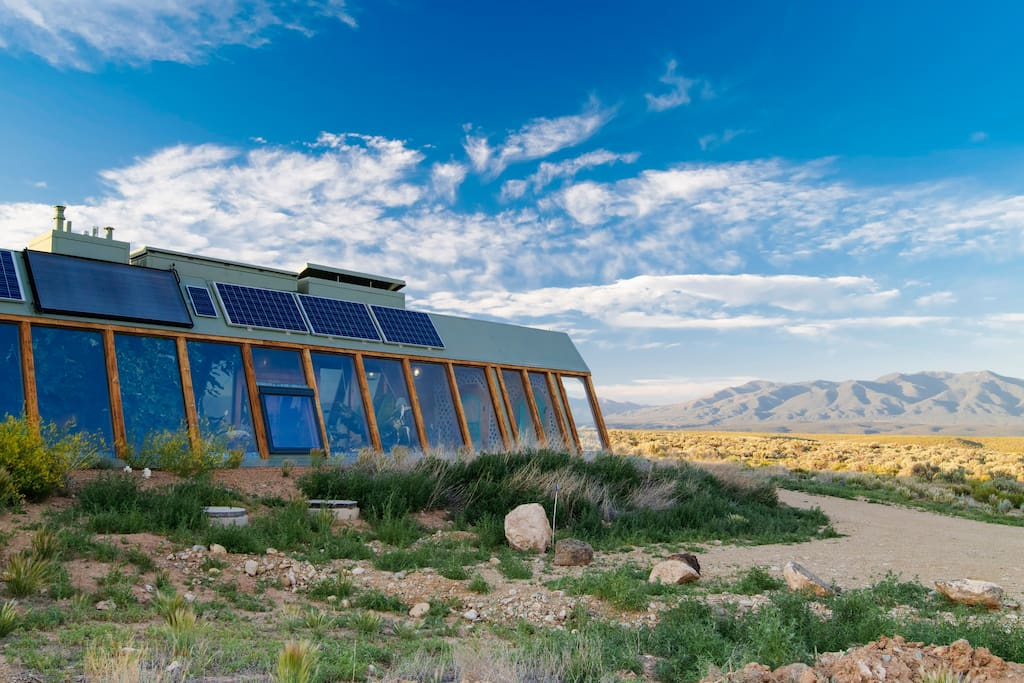 Our Taos Earthship on the Mesa