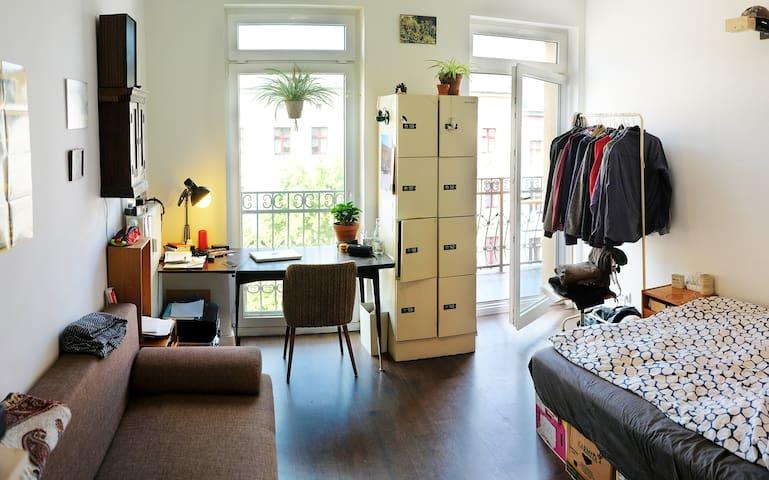 Nice 20qm Room in a shared flat near Gesundbrunnen