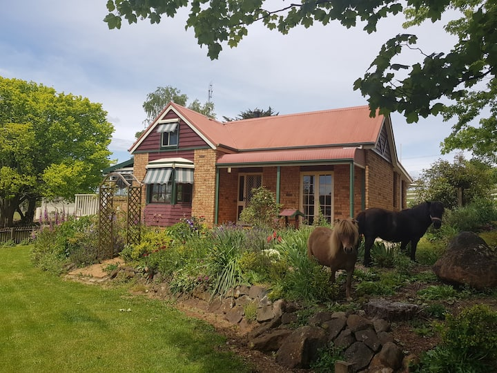 Branxholm Farmstay large deck & BBQ 8km to Derby