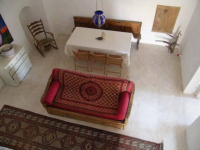 Antica e semplice casa salentina