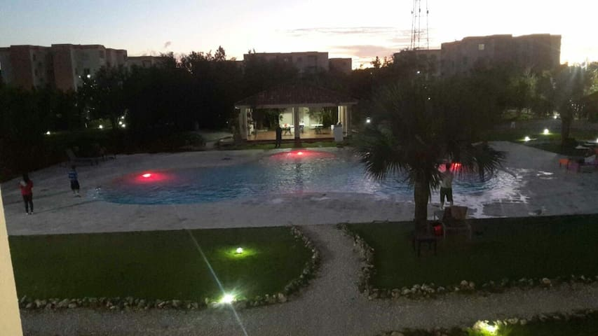 SERENA VILLAGE CONDO. -Punta Cana 2 room-5 prs.