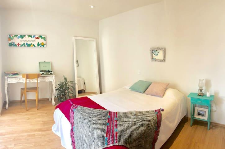 Hermosa habitación en Del Valle