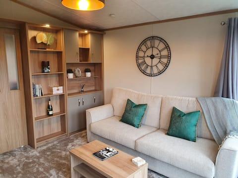 Luxurious Scottish Borders Cabin