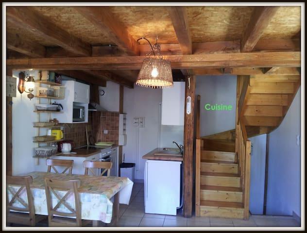 Gîte PRINTEMPS au coeur de la forêt maxi 5 pers - Le Soulié - Appartement