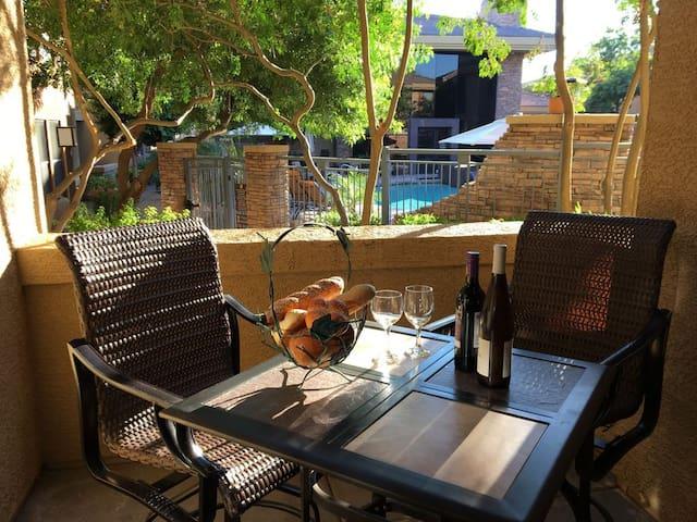 Luxurious North Scottsdale Poolside Condo