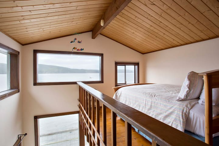 Water Views across the bay from your pillow