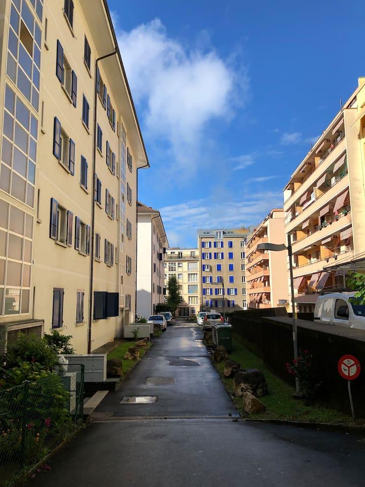 Lausanne - City Center - Calm & Comfort