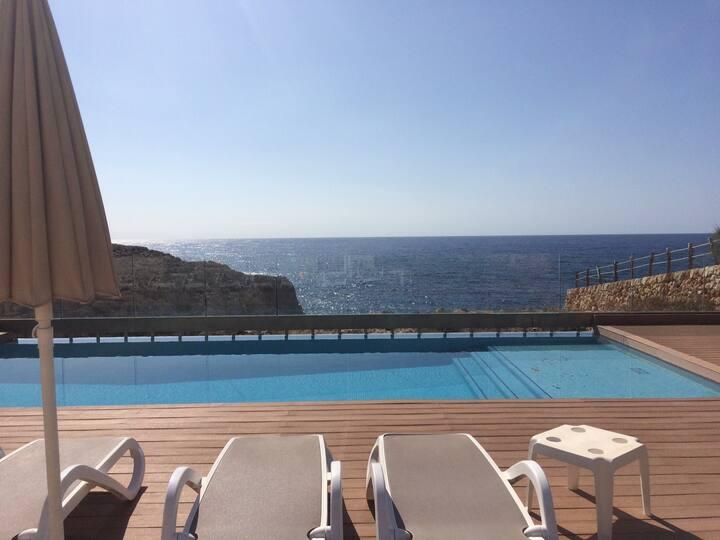 Villa Turquesa Mar,  primera línea mar