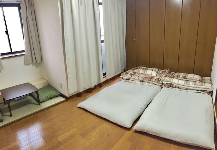 地理位置絕佳,鶴橋車站旁電梯公寓獨立衛浴房間。價錢便宜。設備齊全歡迎詢問 - Osaka Prefecture - Flat