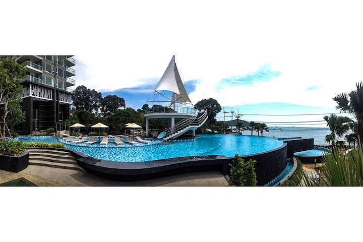 Del mare Condo bang saray beach front