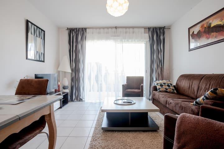 Appartement avec petit jardin clos - Soustons
