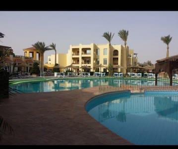 Allinclusive resort room @ el Gouna - Szoba reggelivel