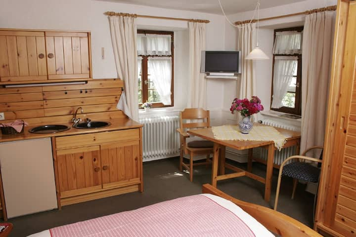 Appartements Tannenhof, (Badenweiler), Appartement A1, 20qm, 1 Wohn-/Schlafzimmer, max. 2 Personen