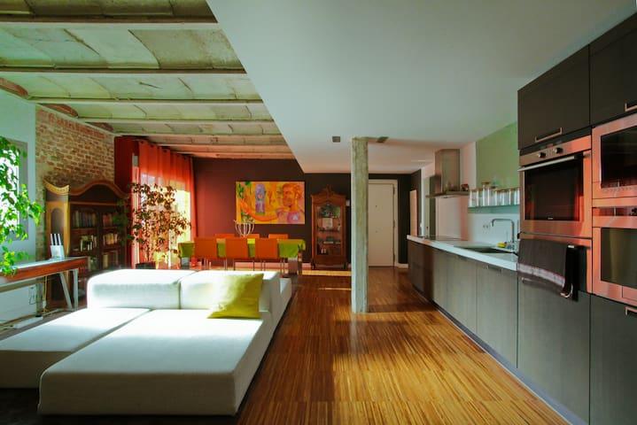 Loft entre jardines en madrid lofts en alquiler en - Lofts en madrid ...