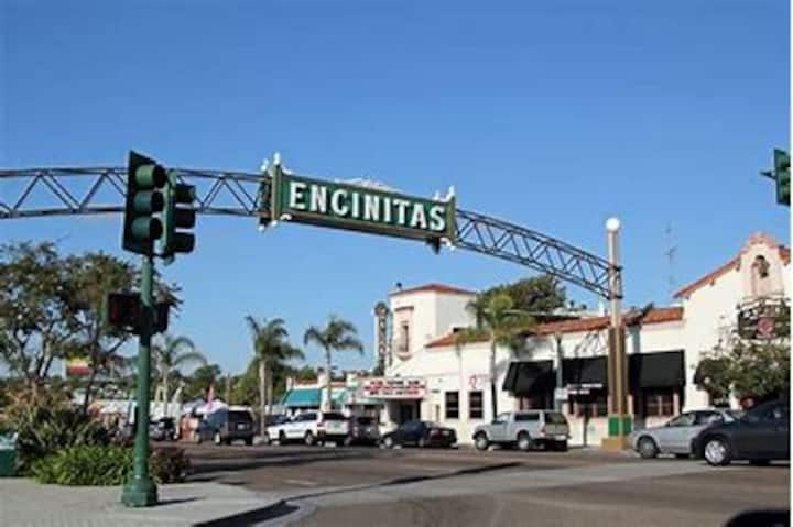 Walk to beach and downtown Encinitas.