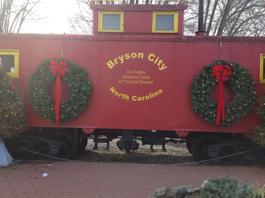 Nearby Bryson City