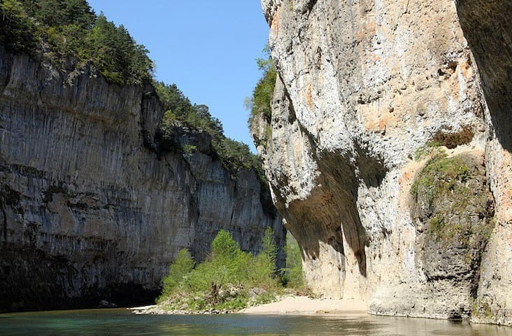 Gorges du Tarn, heated swimmingpool - Quézac - Ev