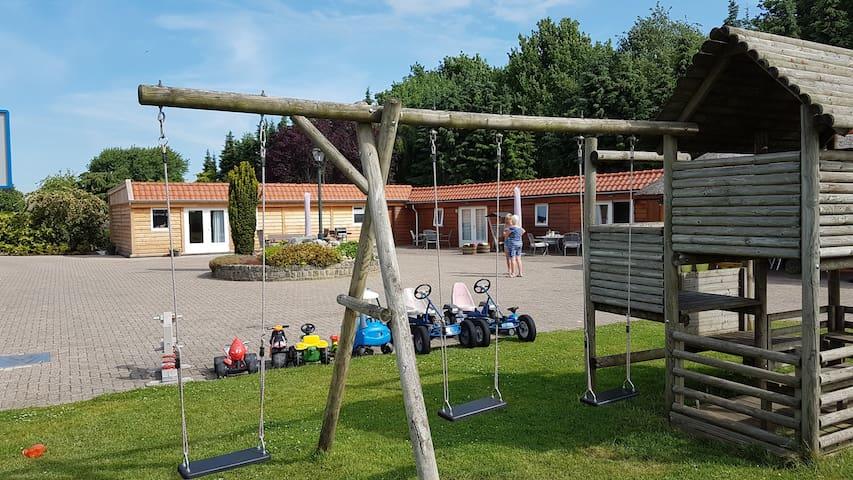 Heerlijk vakantiehuisje vlakbij Wildlands in Emmen